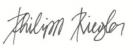 Philipp Riegler - Unterschrift
